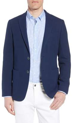Bugatchi Regular Fit Cotton Pique Blazer
