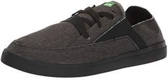 Sanuk Men's Pick Pocket Lace Up Sneaker Black