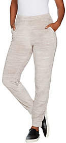Lisa Rinna Collection Pull-On Velour JoggerPants