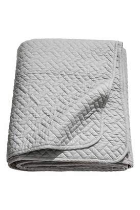 H&M Twin Quilted Bedspread - Gray