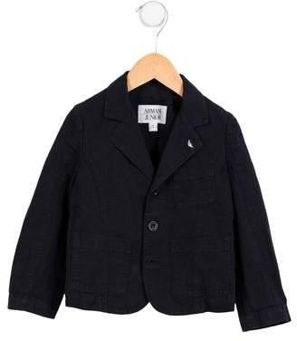 Armani Junior Boys' Linen-Blend Blazer