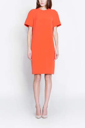 Orange Shift Dress Shopstyle Uk
