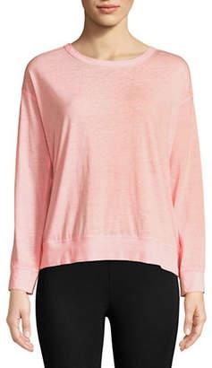 Calvin Klein Cotton-Blend Lace Back Sweater