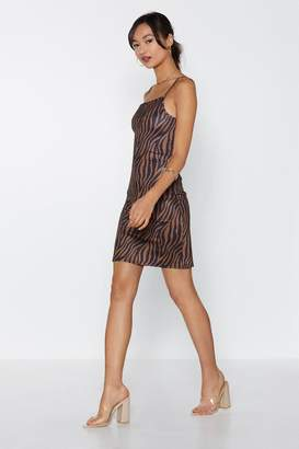 Nasty Gal Surf the Zeb-ra Mini Dress
