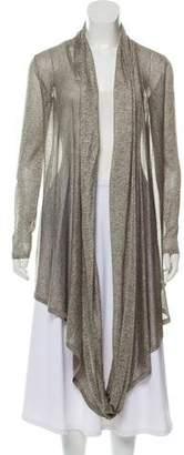 Alice + Olivia Slinky Drape Asymmetrical Knit Cardigan w/ Tags