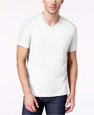 Club Room Men's Solid V-Neck T-Shirt