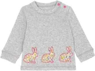 Cath Kidston Baby Girls Long Sleeve Bunny T-shirt