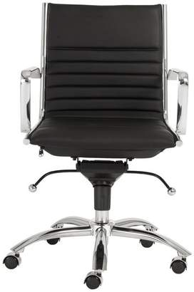 Euro Style Dirk Low Back Office Chair