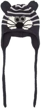 Cat Merino Wool Knit Hat