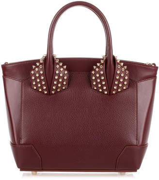 Christian Louboutin Eloise small bordeaux leather bag