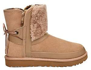 UGG Women's Classic Sheepskin Suede Ankle Boots
