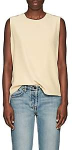 The Row Women's Shelly Silk Top - Wheat