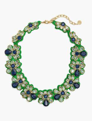 Talbots Fabric-Backed Necklace