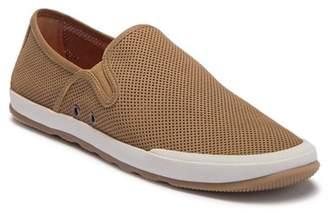 Johnston & Murphy Mullen Perforated Nubuck Slip-On Sneaker