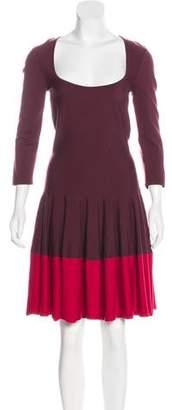 Alexander McQueen Jersey Midi Dress