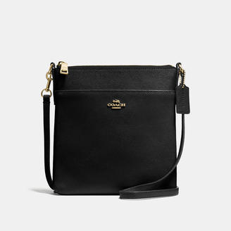 COACH Coach Messenger Crossbody In Crossgrain Leather $145 thestylecure.com
