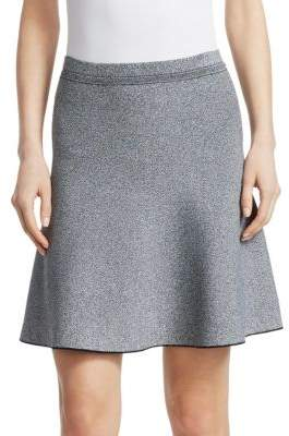 Theory Marl Flare Skirt