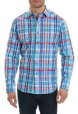 Robert Graham Regular-Fit Plaid Button-Down Shirt