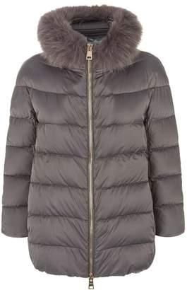 Herno Fur Trim Padded Jacket