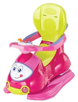 Chicco 4-In-1 Ride-On-Car: Pink