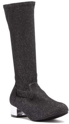 2e97200c57d Harper Canyon Romy Glittery To-The-Knee Sock Boot (Little Kid   Big