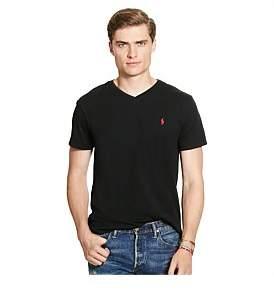 Polo Ralph Lauren Mens Medium Fit V-Neck T Shirt
