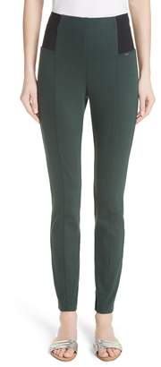 St. John Denim Ponte Crop Pants