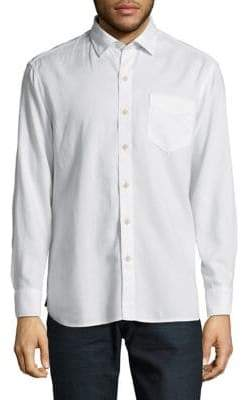 Tommy Bahama Long Sleeve Casual Button-Down Shirt