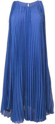 Max Mara pleated flared dress