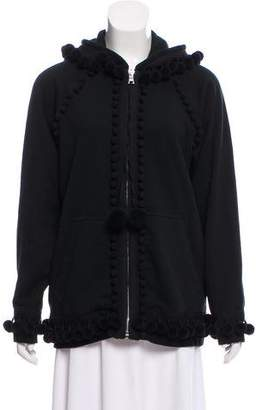 Marc Jacobs Pom-Pom Oversize Sweatshirt