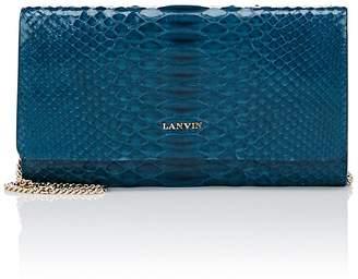 Lanvin Women's Python Chain Wallet