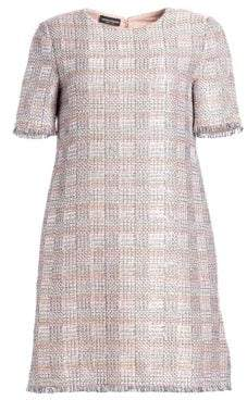 Emporio Armani Jacquard Mini Dress
