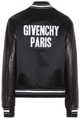 Givenchy Logo varsity jacket