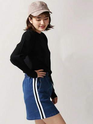 WEGO (ウィゴー) - BROWNY BROWNY/(L)サイドラインデニムタイトスカパン ウィゴー スカート