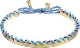 Rebecca Minkoff Women's Climbing Rope Whipstitch Collar Necklace