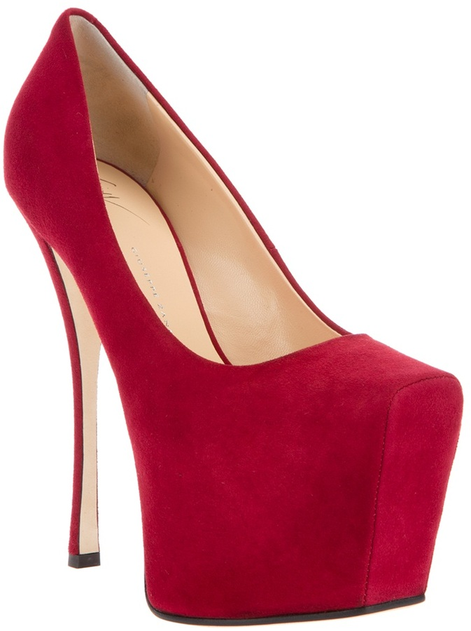 Giuseppe Zanotti Design Platform high heeled pump