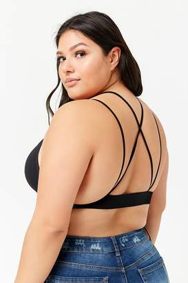 Forever 21 Plus Size Seamless Strappy Bralette