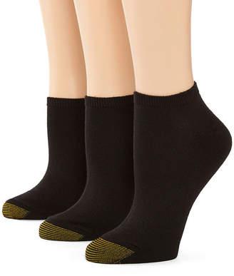 Gold Toe GoldToe 3-pk. Ultra Soft No-Show Socks
