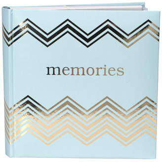 Malden Memories Gold and Teal Picture Album