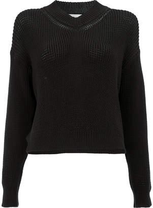 Lamberto Losani dropped shoulder knit jumper