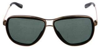 Tory Burch Oversize Metal Sunglasses
