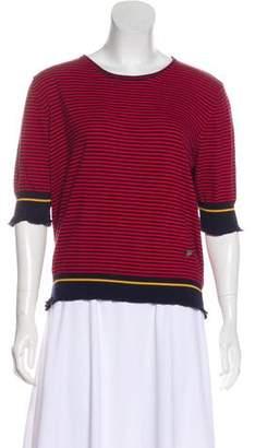 Sonia Rykiel Sonia by Striped Knit Top