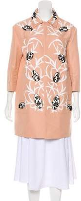 Marni Embroidered Embellished Coat