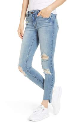 STS Blue SWAT FAME Emma Ripped Ankle Skinny Jeans