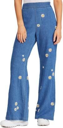 Free People Daisy Wide Leg Jeans
