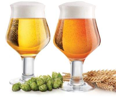 Final Touch Craft Beer Glasses (Set of 2)