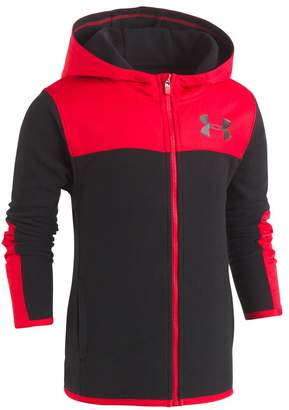 Under Armour Toddler Boy Colorblock Red Lightweight Jacket