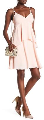 Julia Jordan Spaghetti Strap Tiered A-Line Dress $168 thestylecure.com