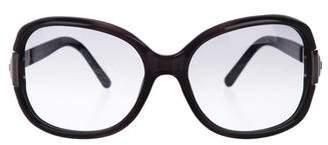 Prada Embellished Gradient Sunglasses