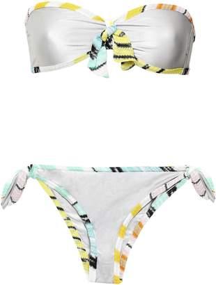 Missoni Mare Stretch-jersey Bandeau Low-rise Bikini
